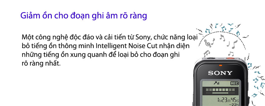 Máy Ghi Âm Sony ICD-PX440 4GB