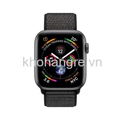 MU672 - Apple Watch 4 Sport - 40mm Space Gray Aluminum/ Black Sport Loop (GPS) (Full VAT)