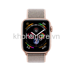 MU6G2 - Apple Watch 4 Sport - 44mm Gold Aluminum/ Pink Sand Sport Loop (GPS) (Full VAT)