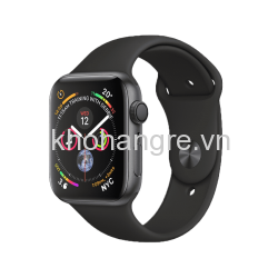 MU6D2 - Apple Watch 4 Sport - 44mm Space Gray Aluminum/ Black Sport Band (GPS) (Full VAT)