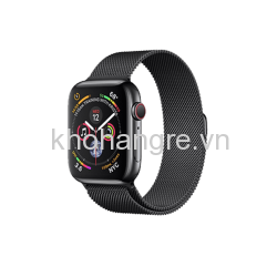 MTUQ2 - Apple Watch 4 - 40mm Space Black Stainless Steel/Space Black Milanese Loop (GPS+Cellular) (Full VAT)
