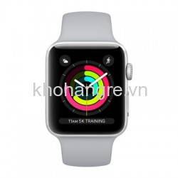 Apple Watch 3 - 42mm Silver Aluminum/ Sport Brand Fog (GPS) (Full VAT)