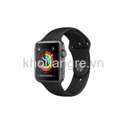 Apple Watch 3 - 38mm Space Gray Aluminum/ Sport Brand Black (GPS) (Full VAT)
