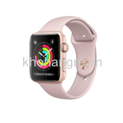 Apple Watch 3 - 42mm Gold Aluminum/ Sport Pink Gold (GPS) (Full VAT)