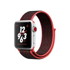 Apple Watch 3 Nike+ - 38mm Silver Aluminum/ Sport Loop (GPS + Cellular) (Full VAT)