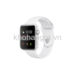 Apple Watch Series 2 38mm, Viền Nhôm, Dây Cao Su - NEW